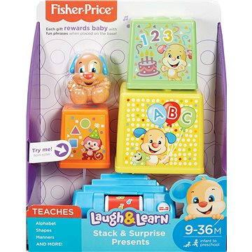 Fisher-Price - Zpívající Dárky SK (0887961436396)