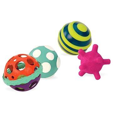 B-Toys Sada míčků Ball-a-baloos (062243294103)