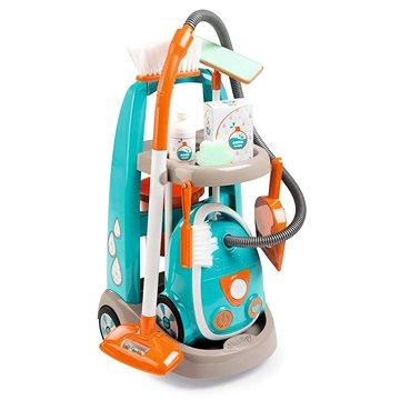 Smoby Vozík pro malou uklízečku s vysavačem (3032163303091)