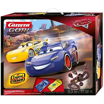 Carrera GO 62446 Cars 3 - Radiator Springs (4007486624467)