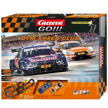 Carrera GO 62448 DTM Speed Club (4007486624481)