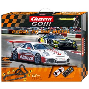 Carrera GO 62460 Pedal to the Metal (4007486624603)