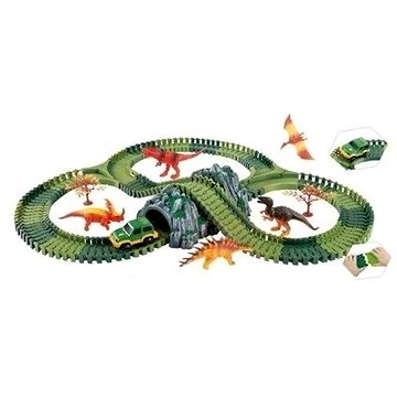 Variabilní dráha s dinosaury a tunelem (8591945087284)