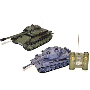 Bitevní set T-34 a Tigr - 2 tanky (8590331051045)