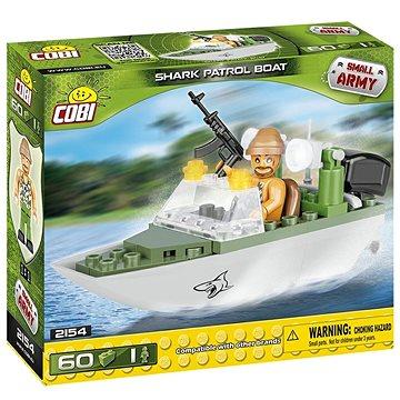 Cobi 2154 Small Army Patrolovací člun Shark (5902251021542)