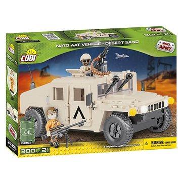 Cobi 24303 NATO terénní vozidlo pouštní (5902251243036)