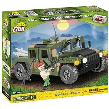 Cobi 24304 NATO terénní vozidlo zelené (5902251243043)