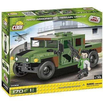 Cobi 24306 NATO terénní vozidlo zelené (5902251243067)