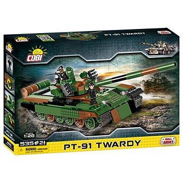 Cobi 2612 Small Army Tank PT-91 Twardy (5902251026127)