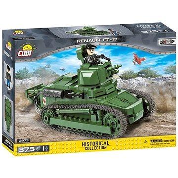 Cobi 2973 Great War Tank Renault FT-17 (5902251029739)