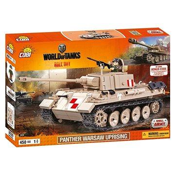 Cobi 3030 WOT Panther Varšavské povstání (5902251030308)