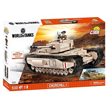 Cobi 3031 WOT Churchill I (5902251030315)