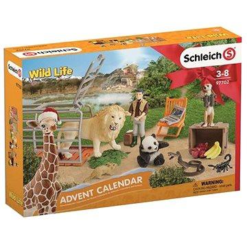 Schleich Adventní kalendář Schleich - Divoká zvířata (4055744021114)