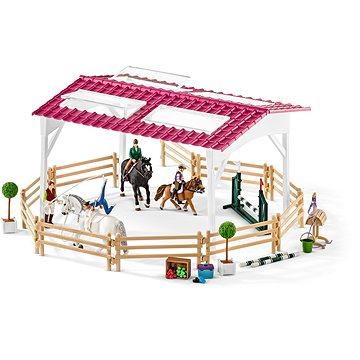 Schleich Jazdecká škola s jazdcami a koňmi(4055744013843)