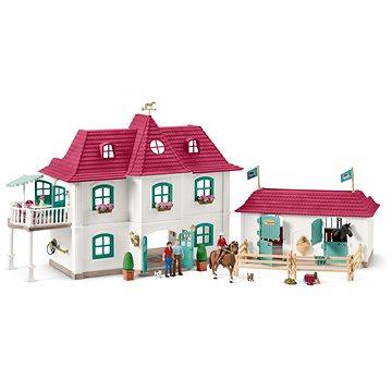 Schleich 42416 Velký dům se stájí a příslušenstvím (4055744032295)