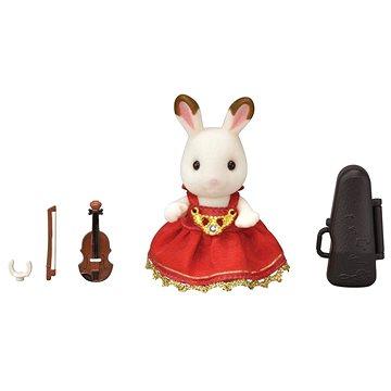 Sylvanian Families Město - houslistka chocolate králík (5054131060094)