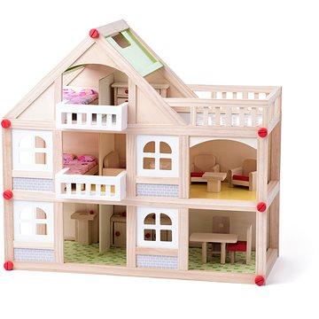 Woody Domeček dvoupatrový s balkonem a příslušentsvím (8591864913299)
