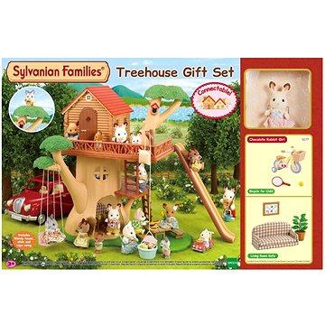 Sylvanian Families Dárkový set Dům na stromě s příslušenstvím (5054131052778)