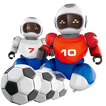 Robot s míčkem na dálkové ovládní, 2 ks + 2 branky (8590756009256)