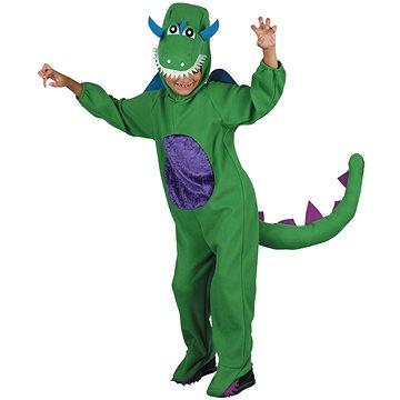 Kostým Dinosaurus zelený vel. M (8590756009997)