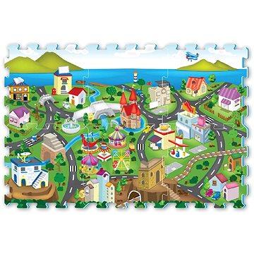 Puzzle pěnové - město (8590756860161)