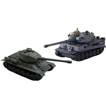 Sada bojujících tanků Tiger vs T34/85 (4260463522082)