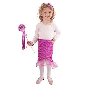 Kostým Mořská panna růžová vel. S (8590687188044)