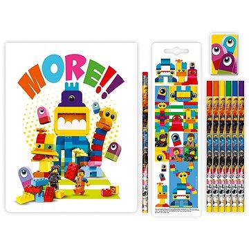 LEGO Movie 2 Stationery Set se zápisníkem Duplo (4895028523053)