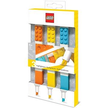 LEGO Zvýrazňovače 3 ks (4895028516857)