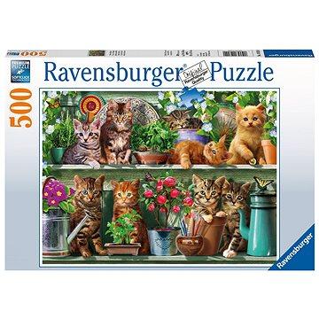 Ravensburger 148240 Kočky na knihovně (4005556148240)