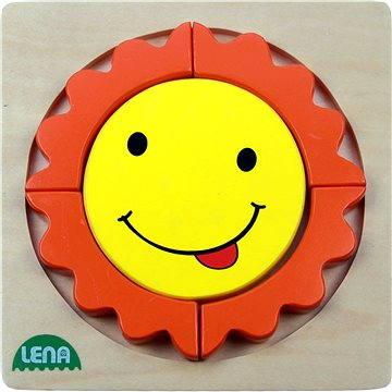 Lena Dřevěné puzzle - sluníčko(32131)