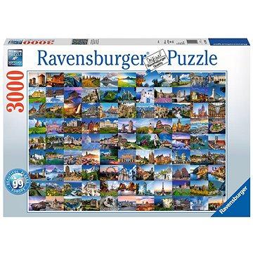 Ravensburger 170807 99 krásná místa (4005556170807)