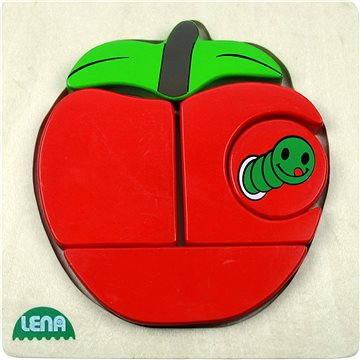 Lena Drevené puzzle – jablko(32135)