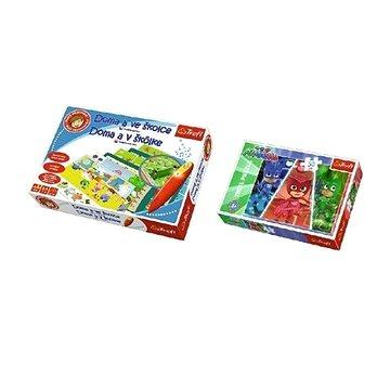 SET Doma a ve školce s magickým perem + Puzzle (5900511008296)