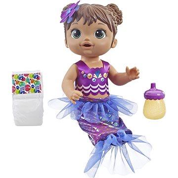 Baby Alive Tmavovlasá mořská panna (5010993548200)