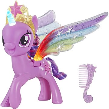 Hasbro My Little Pony Twilight Sparkle s duhovými křídly (5010993553839)