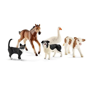 Schleich 42386 Farmářská zvířata set 5ks (4055744013737)