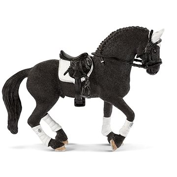 Schleich 42457 Turnajový hřebec Fríského koně (4055744030048)