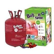 Helium Balloon Time 30 dětský set - nálepky Veselé obličeje, balónky a stuha (5600302390257)