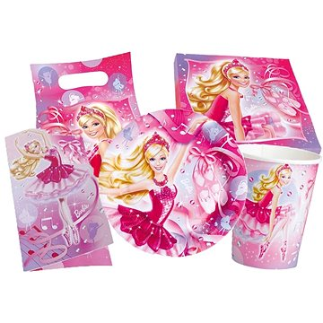Párty set Barbie (4009775455844)