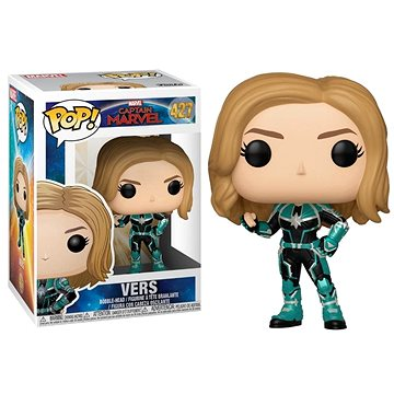 Funko Pop Marvel: Captain Marvel - Pop 2 (889698363426)