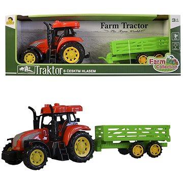 Traktor s přívěsem (8590756009225)