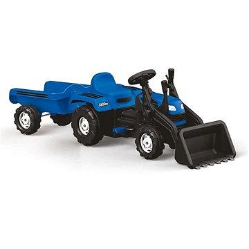 Dolu Šlapací traktor Ranchero s vlečkou a nakladačem (8690089080486)