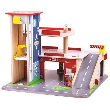 Bigjigs Toys Garáž s parkovištěm (691621711538)