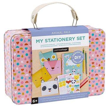 Petitcollage Kreativní kufřík s přáníčky (736313543988)