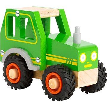 Small Foot Traktor zelený (4020972110787)
