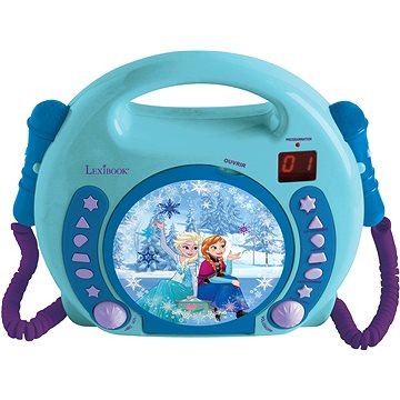 Lexibook Frozen CD přehrávač s mikrofonem (3380743063430)