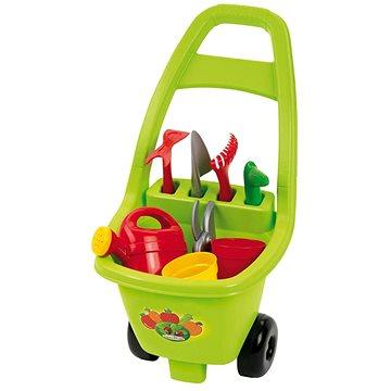 Ecoiffier Zahradní vozík s nářadím a příslušenstvím (3280250004790)