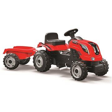 Smoby Farmer XL červený s vozíkem (3032167101082)