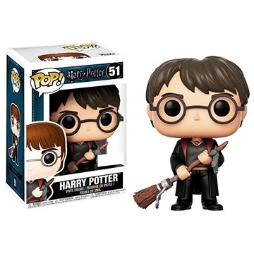 Funko Pop Movies: Harry Potter - Harry Potter w/ Firebolt (889698149495)
